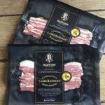 The original lamb bacon Sample packaging