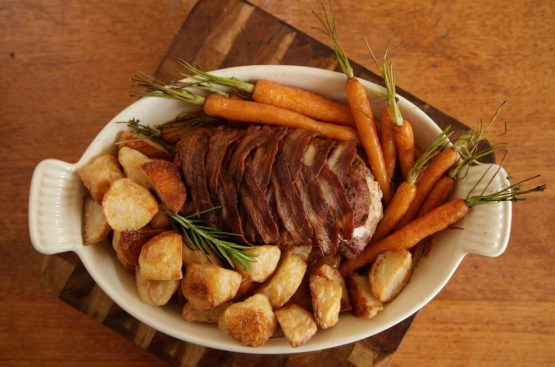 lamb bacon loin lamb recipes